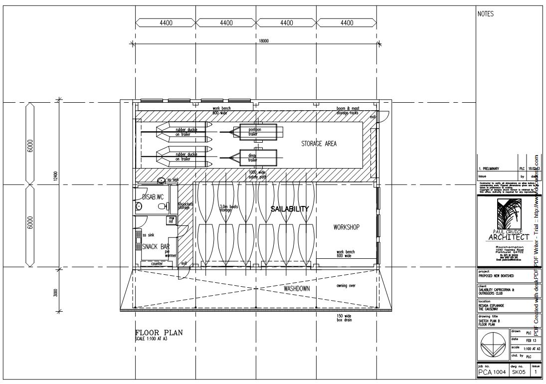 new shed floor plan